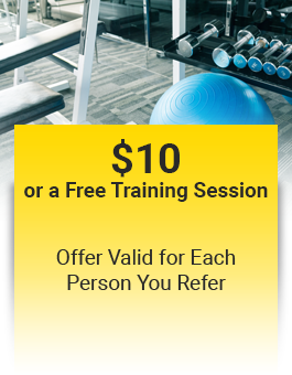 $10 or Free Training Session - Offer Valid for Each Person You Refer