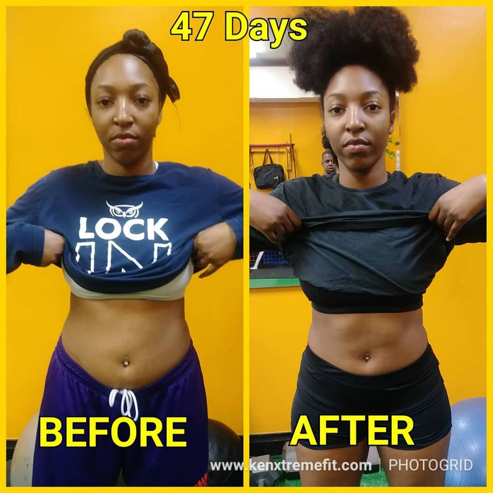 Lost Weight in 47 Days